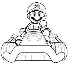 Small Picture Mario Kart Coloring Pages GetColoringPagescom