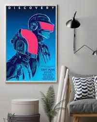 The Best-selling] Wall art concert art music pop-art daft punk poster