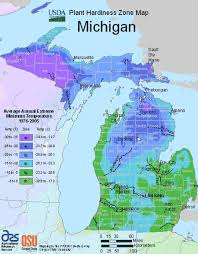 Growing Zone Chart Usa Michigan Planting Zones Usda Map Of Michigan Growing Zones