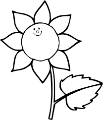 Sunflower Coloring Page - GetColoringPages.com