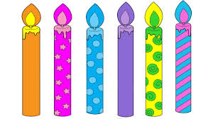 Small Picture Birthday Candles Coloring Pages Birthday Candles Colouring Pages