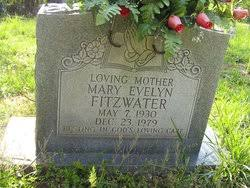 Mary Evelyn Summers Fitzwater (1930-1979) - Find A Grave Memorial