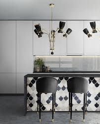 lighting for a bar. Amy Modern Chandelier Is A New Take On The Classic Mid-century Chandeliers Of 50s And 60s. Shades Are Adjustable So That You Can Create Lighting For Bar