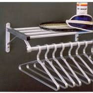 Wall Coat And Hat Rack LK Goodwin Company Wall Mounted Coat Hat Rack 100 System 9
