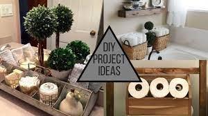 Diy Bathroom Decorating Ideas Storage Solutions More Youtube