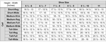 Ariat Size Charts