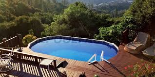 Above ground pool deck Free Standing Above Ground Pools 561 The Pool Factory Pool Deck Ideas partial Deck The Pool Factory