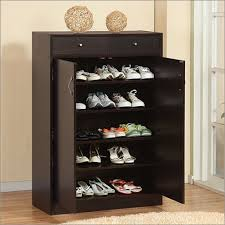 Modern Shelf Shoe Cabinet with Two Drawers