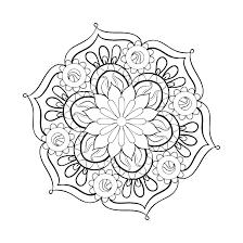 Idea Mandala Coloring Pages Free Printables And Abstract Coloring