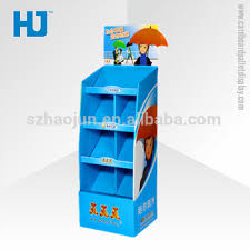 Cardboard Pop Up Display Stands Cool Pop Up Display Stand For UmbrellasCustom Cardboard Display Stand