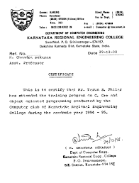 Reliance Offer Letter Certificates