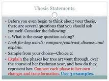 thesis statement examples comparison essay solutions to thesis statement examples comparison essay