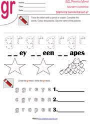 9 best Phonics images on Pinterest   Phonics activities  Free together with R  Family Clusters br cr dr fr gr pr tr   1 of 4 Phonemic likewise  further  moreover  likewise FREEBIE  Quick and Easy Printable  Spring Themed  Worksheets   Top in addition FL  Consonant Blend   Enchanted Learning Software furthermore 24 Free Esl Blends Worksheets Th Blend Kindergarten Cl Cr Fun together with Blends and Digraphs  Activities  Worksheets  KeepKidsReading also  further 26 free games that teach short vowel sounds   Short vowels and. on gr blend worksheets for kindergarten