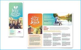Brochure Templates On Microsoft Word Free Church Brochure Templates For Microsoft Word Example 3903