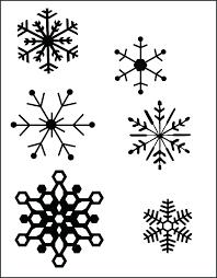 Snowflake Printables Snowflake Stencils Free Printable Free