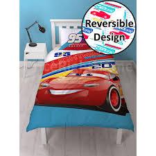 Lightning Mcqueen Bedroom Accessories Disney Cars 3 Lightning Mcqueen Single Duvet Bedding Bedroom