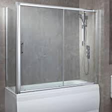 luxury 1800mm 8mm over bath sliding door