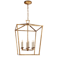 aged iron great transitional light chandelier drawing