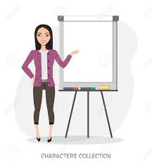 What Is Flip Chart Presentation Asian Women Presentation On Flip Chart Paper