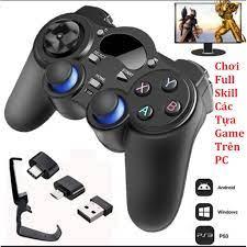 Tay Cầm Chơi Game Không Dây 2.4G Cho PC / Laptop / Điện Thoại / TV Android  / TV Box / Game Stick / PS3 / Android Phone - Video games