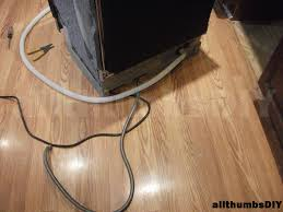 allthumbsdiy imags installing bosch dishwasher a80 hose routing