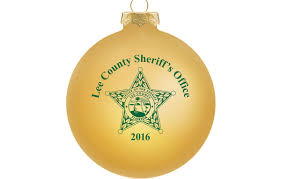 the office ornaments. Custom Christmas Ornaments For Lee County Sheriff\u0027s Office The N