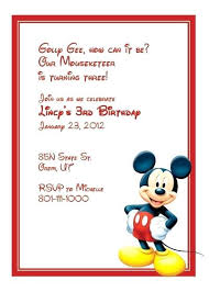 Wonderful Free Mickey Mouse Baby Shower Invitations Mickey Mouse
