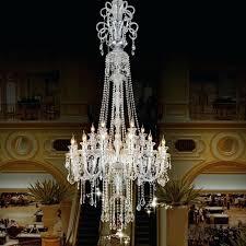 large candle chandelier big luxury crystal chandeliers star hotel holder modern real lighting uk