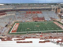 Dkr Texas Memorial Stadium Section 106 Rateyourseats Com