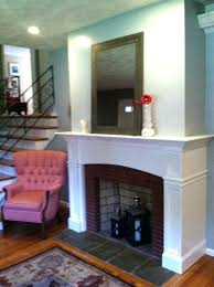 gas fireplace with mantle fireplace mantel ideas mantel deep return after living rm perspective gas fireplace