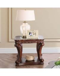 traditional dark oak furniture. Furniture Of America Townsend Traditional Glass Top End Table (Dark Oak (Brown)) Dark I