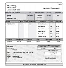 Payroll Check Stub Template Free 28 Images Of Fill In Payroll Paycheck Template Leseriail Com