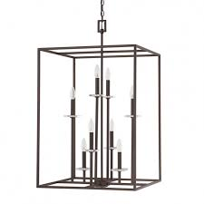 8 light foyer fixture