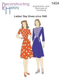 1940s Dress Patterns Interesting 48s Sewing Patterns Dresses Overalls Lingerie Etc