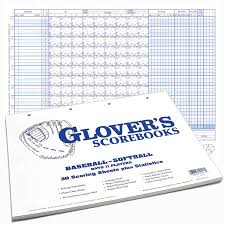 Glovers 30 Game Score Sheets With Stats Sports Advantage