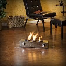 modern gel fireplace  contemporary fireplaces