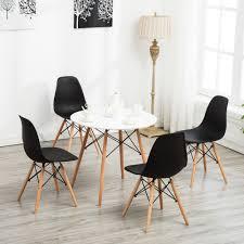 Modern White Vogue Dining Table Carpenter Round Coffee Table Kitchen