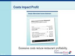 restaurant expense what is cost control 1 controlling foodservice costs oh ppt video