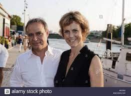Paris, France. 27th June, 2019. Fabien Lecoeuvre and Anne Richard attend  the 7th 'Trophée De La Pétanque Gastronomique' at Paris Yatch Marina in  Paris Stock Photo - Alamy
