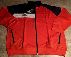 Details About Denver Broncos Color Block Track Jacket 2xl Orange Double Embroidered Logos Nfl