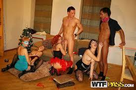 ... 2NSFW Student group sex at the Christmas party porno Gambar nomor: 11  ...