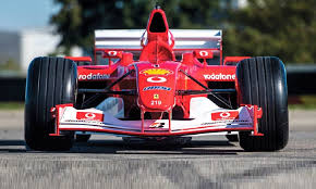 The ferrari f2001 that schumacher piloted to nine victories in 2001, including his last at monaco, sold for $7,504,000 in front of a packed house at sotheby's contemporary art evening auction on november 16 in new york. Big Money For Ex Schumacher Ferrari At Rm Sotheby S Abu Dhabi Auction Racer