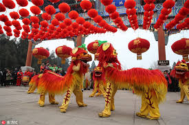 Spring Festival Temple Fairs Held Across China To Mark Spring Festival 4