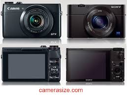 sony g7x. canon g7 x and sony rx100 iii size comparison g7x t