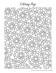 Free Spring Coloring Pages For Adults The Country Chic Cottage