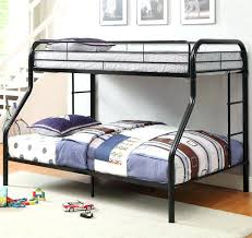 contemporary bunk beds metal full silver loft bed with desk underneath mattresses only