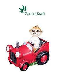 meerkat driving tractor solar powered