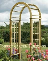 Small Picture Malvern Wooden Trellis Garden Arch Garden arches Planters and
