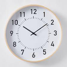 tate wall clock 40cm target australia