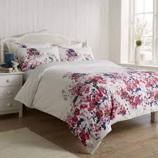 vantona cherry blossom duvet cover set multi dove mill